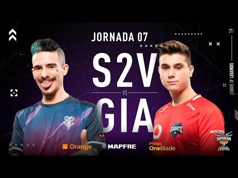 S2V VS VODAFONE GIANTS | Superliga Orange League of Legends | Jornada 07 | Temporada 2019 thumbnail
