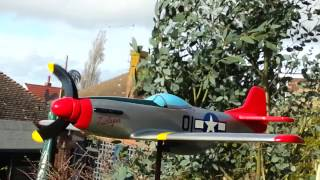 P51d Whirligig Airplane