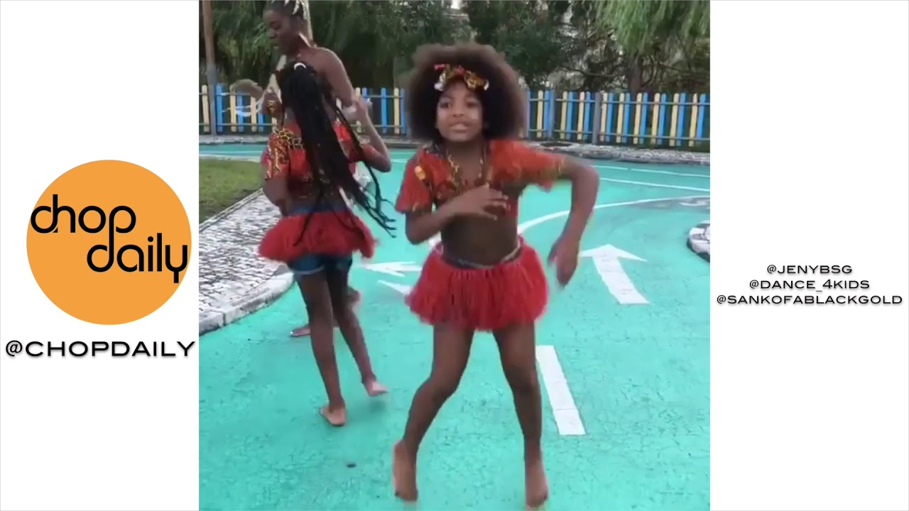 Kids Dancing To AfroBeats | Dance Video Compilation | Chop Daily