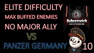 Hearts of Iron 4 - Hardest Possible Game - Fuhrerreich - Germany - Part 10