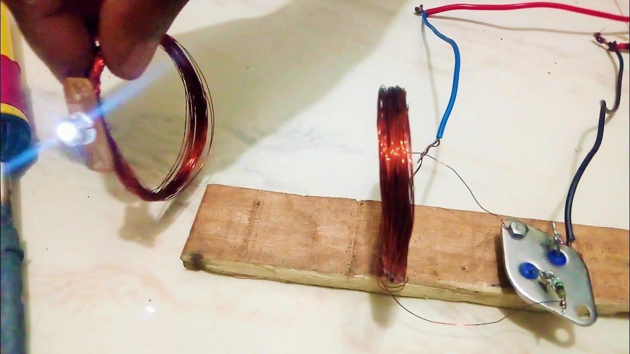 How To Make Wireless Electricity Transmission Youtube Teslawirelesspowercircuitjpg