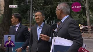 Объезд акима Алматы по Медеускому району: жители рассказали о проблемах градоначальнику (10.07.19)