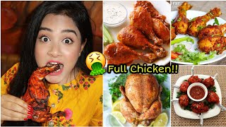 I only ate CHICKEN for 24 HOURS 😱 *G0NE WR0NG* Nil and Situ Vlogs