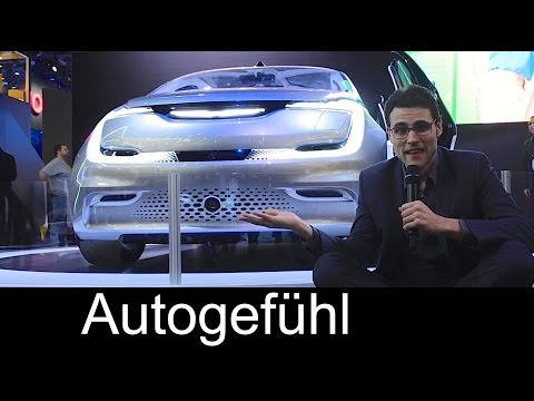 Chrysler Portal Electric Concept Car review with Lounge & Seat Speakers - Autogefühl