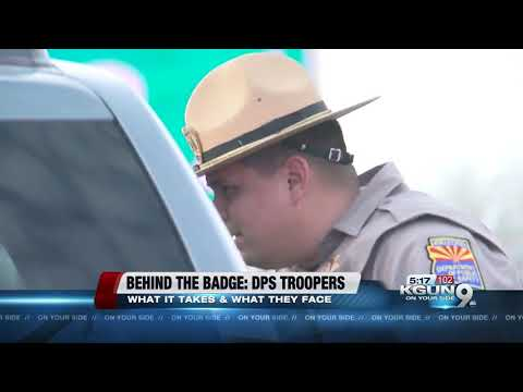 DPS Troopers in Southern Arizona, maintaining safety on the interstate