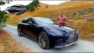2018 Lexus LS 500h Multi Stage Hybrid HEV FIRST DRIVE REVIEW (3 of 3)
