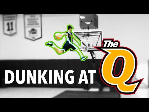 Dunking at Quicken Loans Arena | Drone View