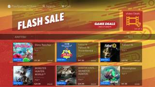 """PS4 Flash Sale for F*** Around Friday """"PSN FLASH SALE 2019 Good or Bad?"""""""