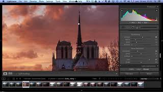 Sunset Notre Dame Intro Regular [SERGE RAMELLİ]