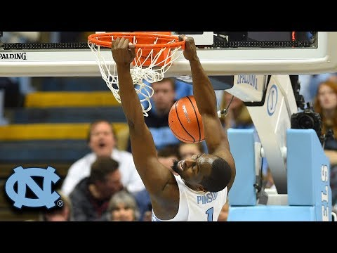 UNC's Theo Pinson Dunks All Over Georgia Tech