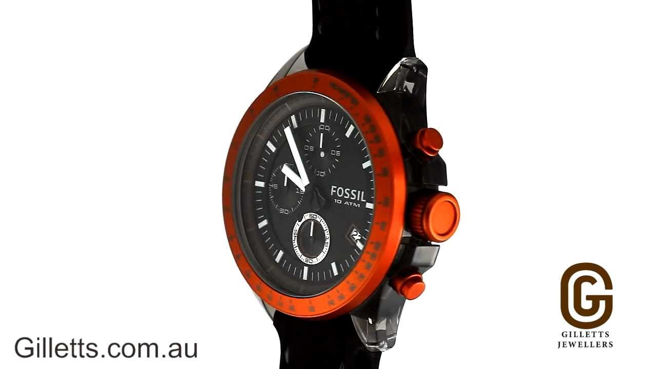 fossil orange