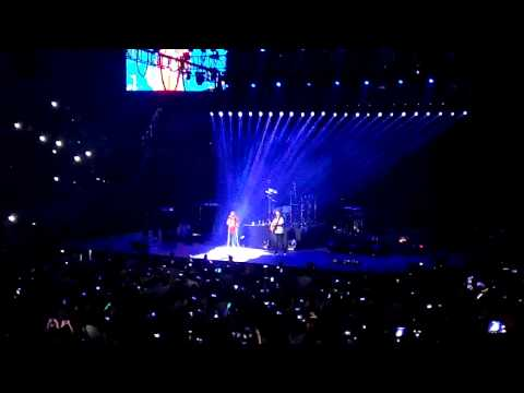 Maroon 5 V Tour Manila 2015 - Lost Stars