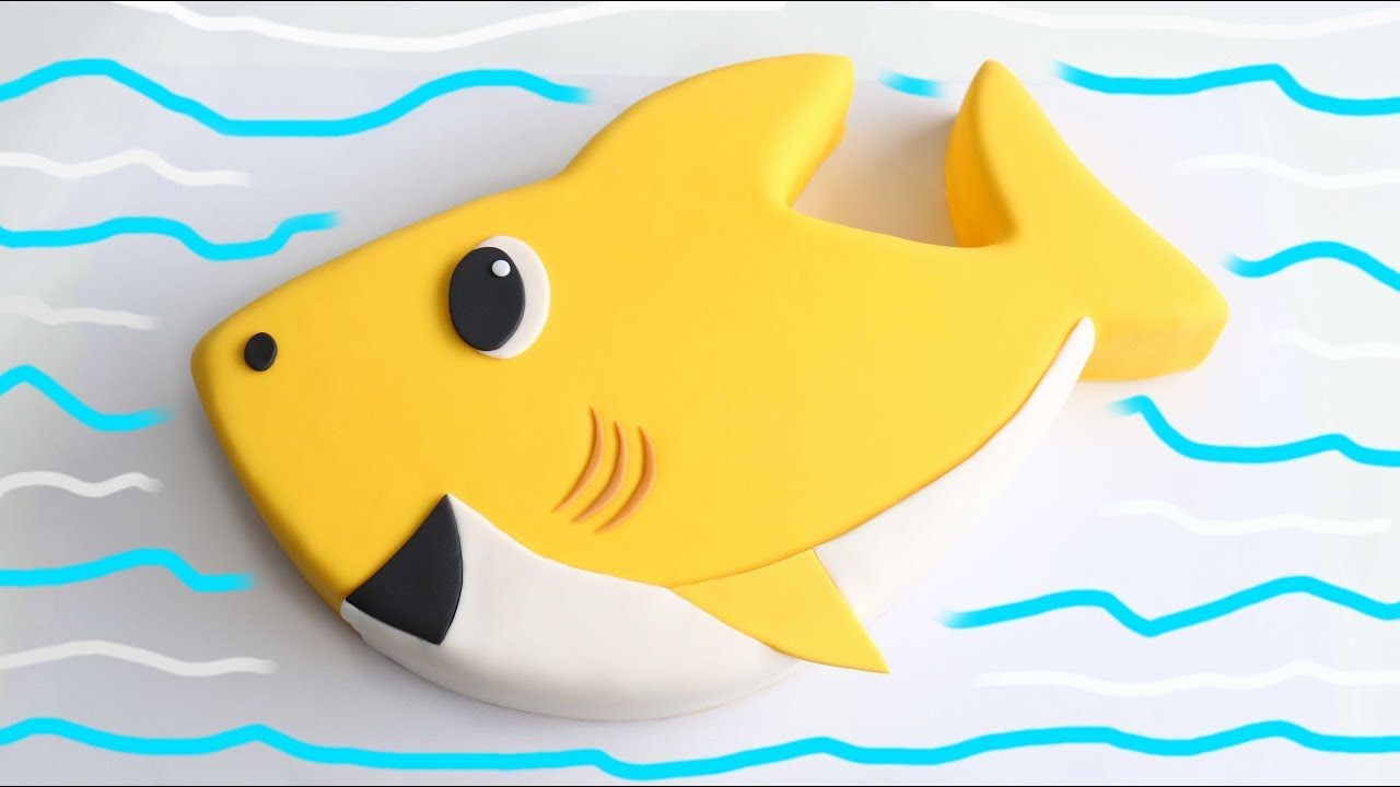 Baby Shark CAKE!! - YouTube