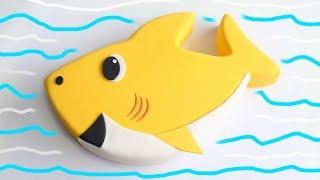 Baby Shark CAKE!!