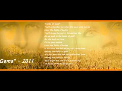 FIELDS OF GOLD - Michael Bolton and Eva Cassidy - New 2013 HQ Video