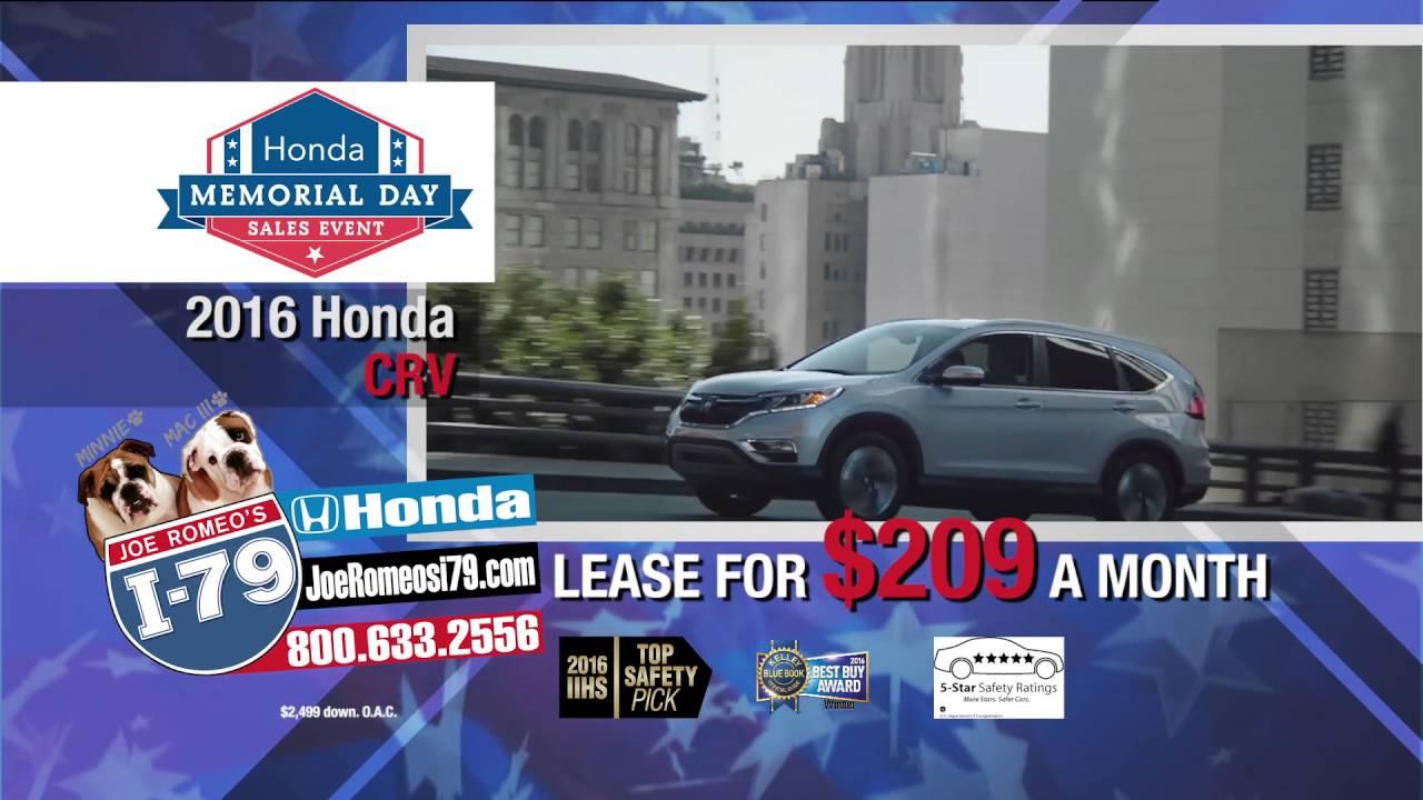 I-79 Honda Memorial Special. - YouTube
