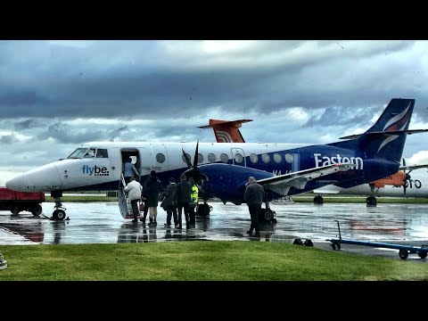 The FAR NORTH of Great Britain - Eastern Airways (for Flybe), Aberdeen to Wick