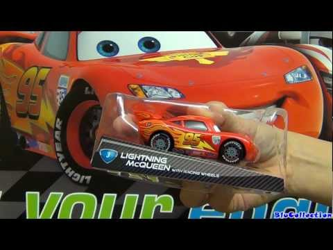 Racing Wheels Lightning McQueen with Synthetic Rubber Tires Disney CARS diecast by Blucollection