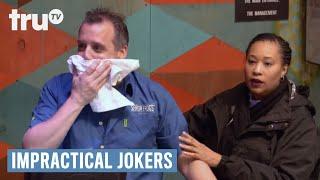 Impractical Jokers: Inside Jokes - Joe Throats a Chicken Tender   truTV