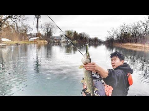 ice fishing canadice lake ny