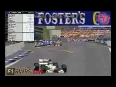 2016 F1RWRS Australian GP