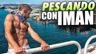 ENCONTRAMOS una TRAMPA pescando con un SUPER IMÁN!!!