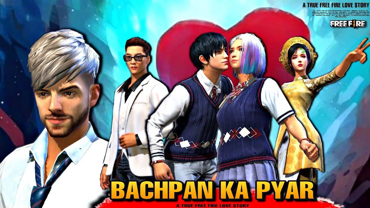 BACHPAN KA PYAR 💕    FREE FIRE LOVE STORY 2021    FF STORY    FREE FIRE STORY BACHPAN KA PYAR