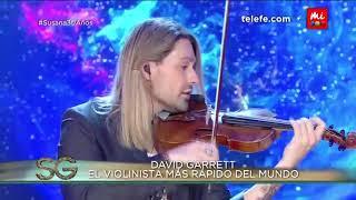 David Garrett, el violinista más rápido del mundo - Susana Giménez 2017