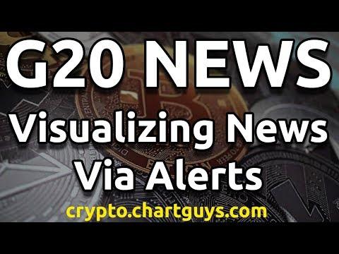 G20 News Visualized via Alerts - Bitcoin Ethereum Litecoin