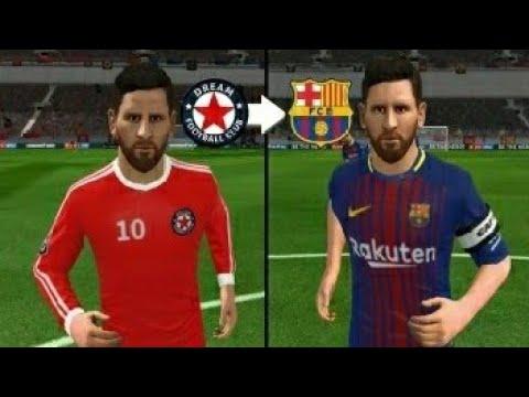 How To Get Barcelona Kit   Logo On Dream League 18 - YouTube 7e8f4b377