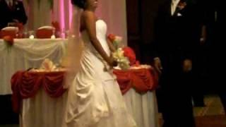 bride dancin tassa in chicago