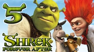 Shrek Forever After Walkthrough Part 5 (PS3, X360, Wii, PC) - Dragon
