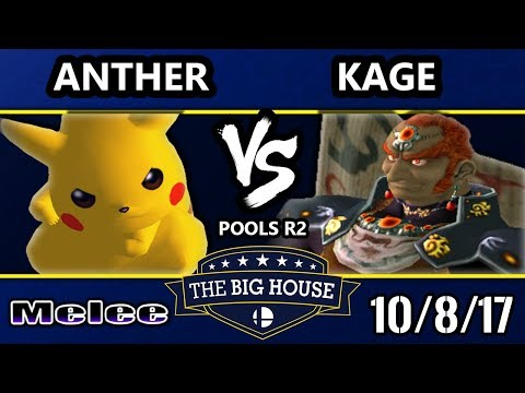 TBH7 Melee - Anther (Pikachu) Vs. Kage (Ganondorf) SSBM R2 Pools