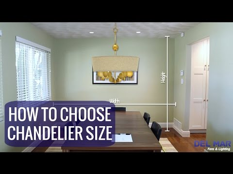 what size dining room chandelier do i need a sizing guide from delmarfanscom