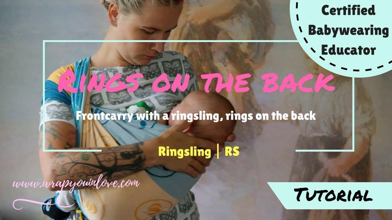 Ringsling Front Carry Rings On The Back Nursing