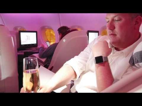 Qatar Airways A380 Business Class Review Doha to Bangkok - Flight 836