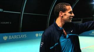 Barclays Ball Kids meet Rio Ferdinand