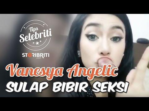 10 Detik Menyulap Bibir Lebih Seksi Ala Vanesya Angelic By Storibriti