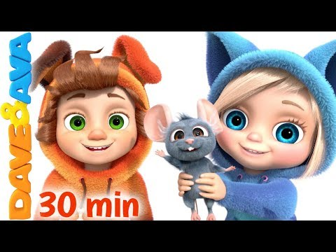 🐬 One Little Finger & More Kids Songs by Dave and Ava 🐬