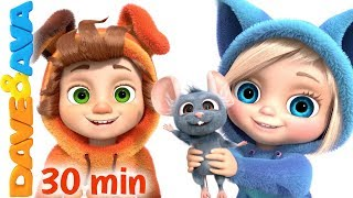 🐬 One Little Finger Andamp More Kids Songs By Dave And Ava 🐬