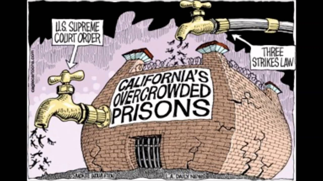California Prison Overpopulation - YouTube