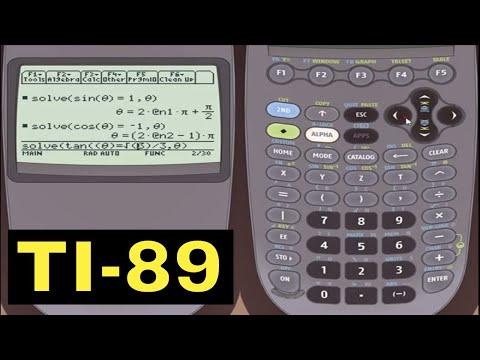 Solving Trigonometric Equations With The Ti