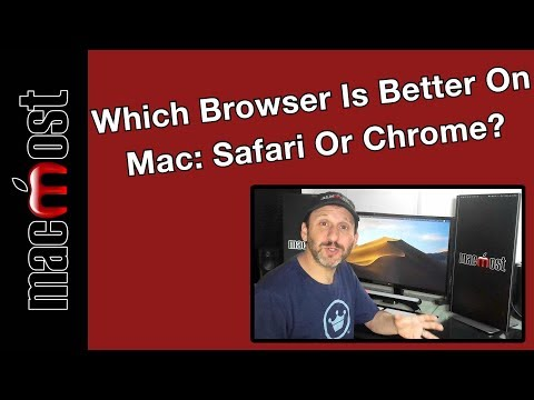 Which Browser Is Better On Mac: Safari Or Chrome? (MacMost #1922)