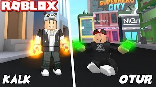 We've done superhero missions! - Roblox Superhero City with Panda