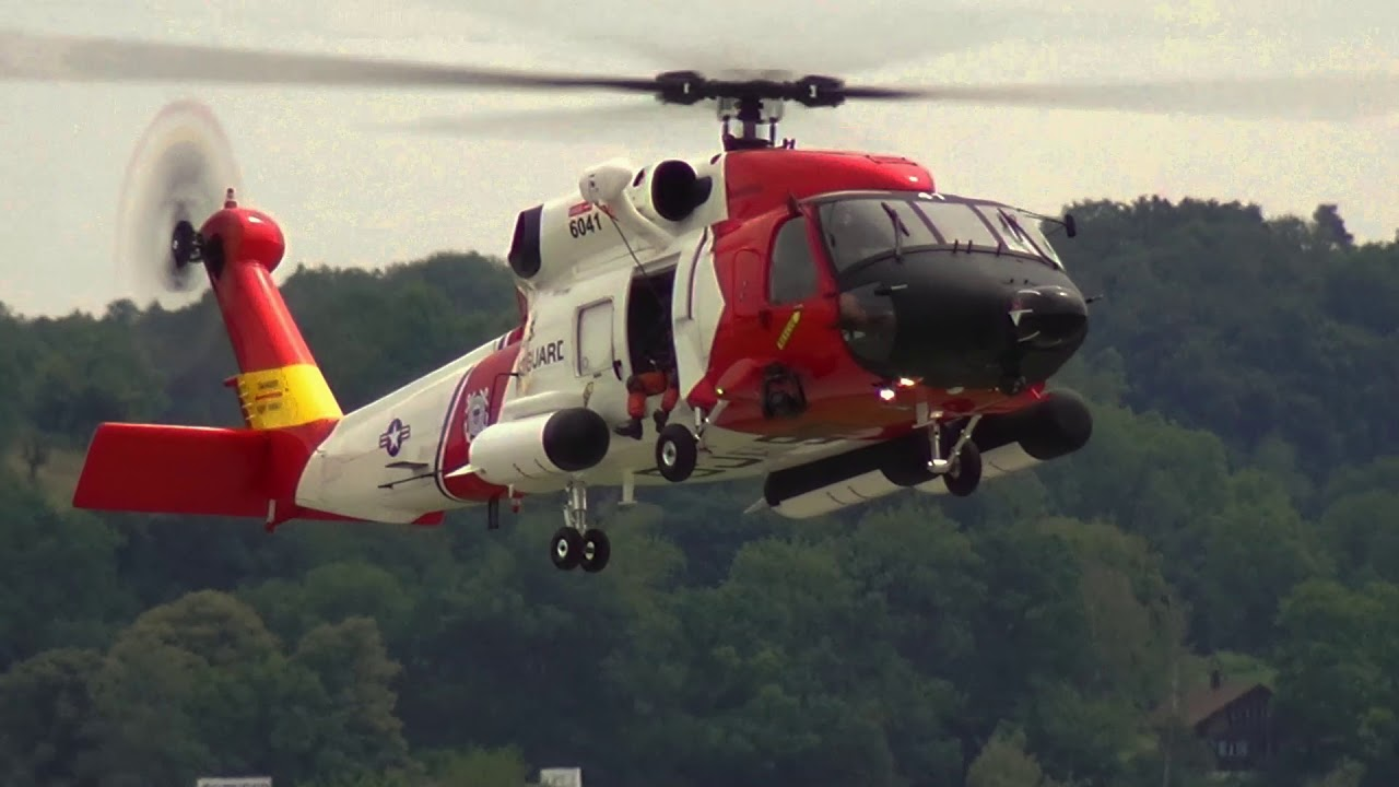 US COAST GUARD SIKORSKY HH-60 JAYHAWK RC SCALE HELICOPTER