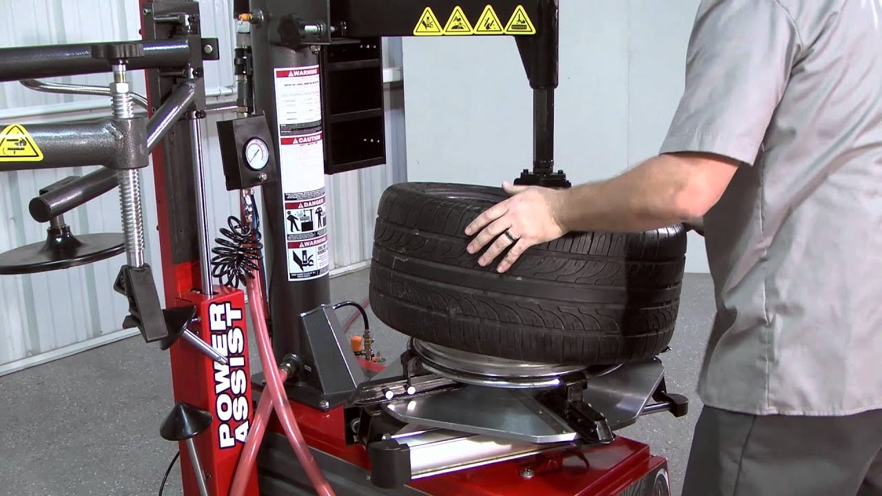 Tire Machine Parts >> R980ATF Demo / Ranger Tire Changer - YouTube