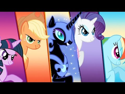 Май Литл Пони с Кидом #5 Эплджек и Радуга Дэш против оборотней Крисалис My Little Pony на пурумчата