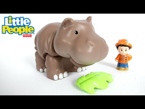 Little People Hippo from Fisher-Price - YouTube