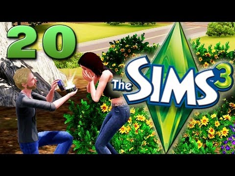 "Dark Plays: The Sims 3 [20] - ""Carl Gets Married"""
