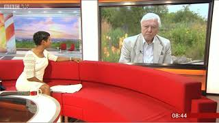 Car Crash TV Naga Munchetty Sir David Attenborough BBC Breakfast